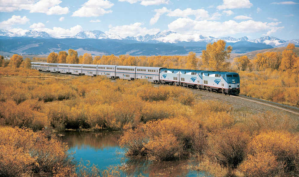 West Coast to East Coast USA by Train for only $223